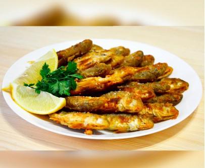 Черноморская жареная рыбка. Барабуля.