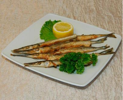 Черноморская жареная рыбка. Сарган.