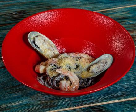 Паста Грассоттело в сливочном соусе