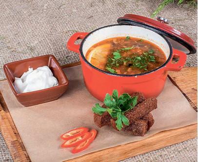 Суп Солянка старорусская